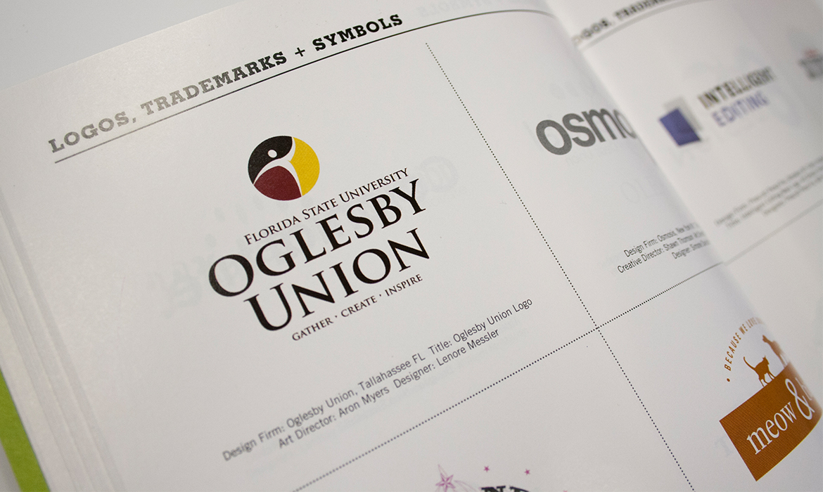 Oglesby Union Logo in HOW Magazine
